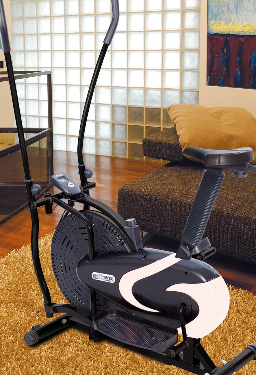 L ellittica ZEUS unisce i vantaggi di un tapis roulant e di una ciclocamera  tradizionale  il movimento fluido allena sia i muscoli superiori (braccia 2d02a8b84ad